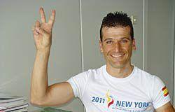 Borja Gutiérrez, bombero