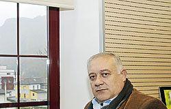 Jesús Alvarez Barbao. Alcalde de Morcín