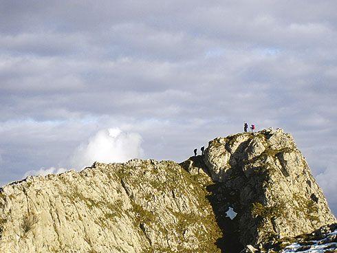 Cuitu Ramiru, también conocido como Pico Monsacro.
