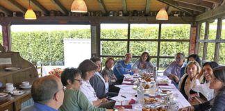 Reunión de los miembros de la Asociación