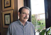 Gerardo Iglesias. Fundador y ex-coordinador general de IU