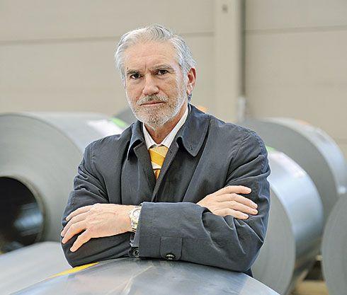 Macario Fernández. Presidente Ejecutivo de la empresa Asturiana de Laminados