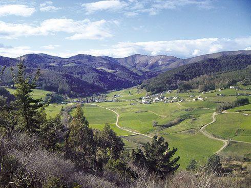 Vista de Naraval desde Las Vueltas del Gato