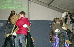Actividades navideñas organizadas por la Asociación de Vecinos Oviñana