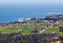 Vista del litoral pixueto