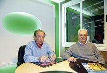 Martín Alonso y José Manuel Pedrosa, presidente y secretario de la Asociación de Empresarios.