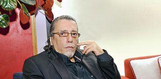 """Víctor Puertodán. Presidente de la """"Asociación Literaria Alfonso Camín"""""""