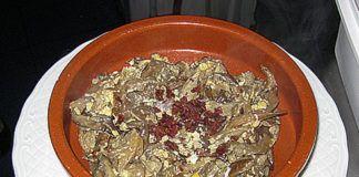 Revuelto de setas. Jornadas Gastronómicas de las Setas. Riosa