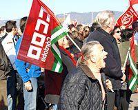 Manifestación contra la reforma laboral en Córdoba