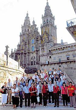 Excursión a Galicia de la Asociación Nuestros Mayores Valle del Ese.