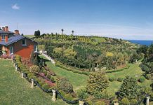Jardines de la Fonte Baixa en Valdés