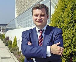 Pablo García-Vigón. Presidente de la Asociación de Empresarios del Polígono de Silvota