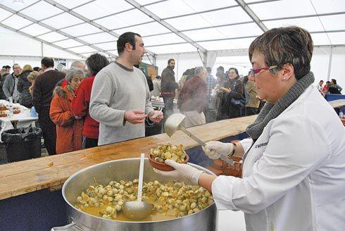 Fiesta del berberecho en Foz (Lugo)