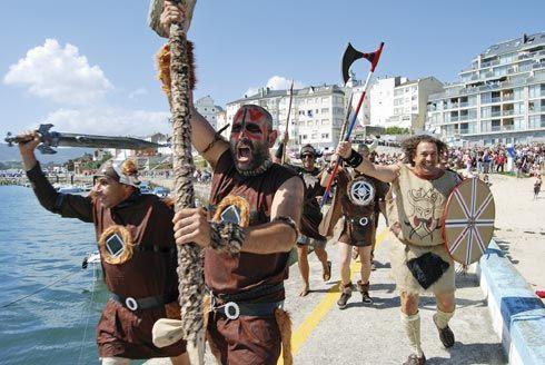 Fiesta Normanda en Foz (Lugo)