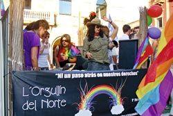 Fiesta LGTB (lesbianas, gays, transexuales y bisexuales)