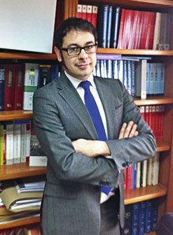 Julio Martínez. Delegado en Asturias de Jueces para la Democracia