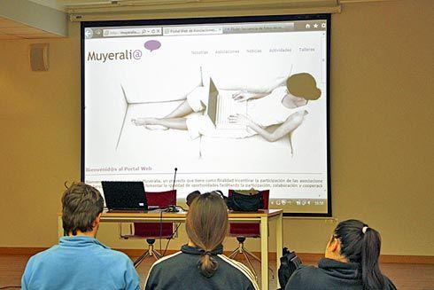 Presentación de la web muyeralia.com
