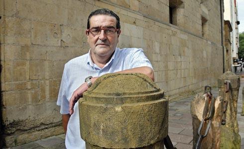 Antonio Bron, Presidente de la Asociación de la Prensa de Oviedo.