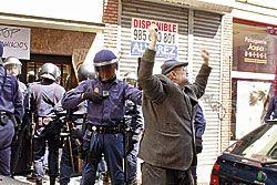 Ciudadanos contra los desahucios.