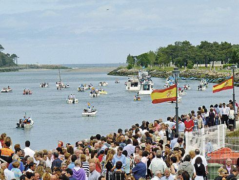 Procesión de La Barca, Navia