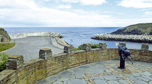 Mirador de La Riva, Puerto de Vega (Navia).