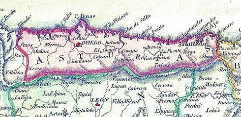 Asturies en 1815
