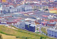 Polígono Industrial de Ferreros (Oviedo).
