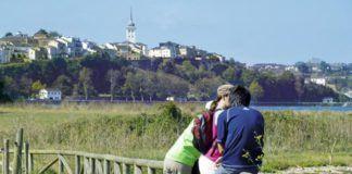 Vista de Castropol.