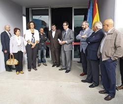 Inauguración del nuevo Centro de Servicios en los Polígonos Industriales de Roces y Porceyo, Gijón.