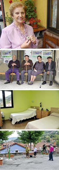 Teleasistencia. Ancianos. Residencia pública. Tercera edad. Riosa