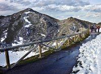Ruta: Pico Gamonal, espectador de la épica ciclista. Riosa