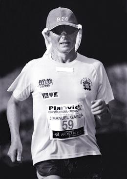 José Manuel García-Millariega, atleta de ultrafondo