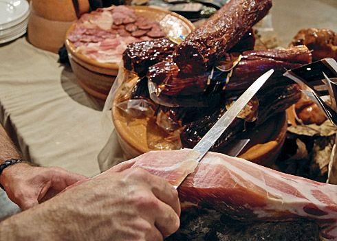 Productos asturianos.