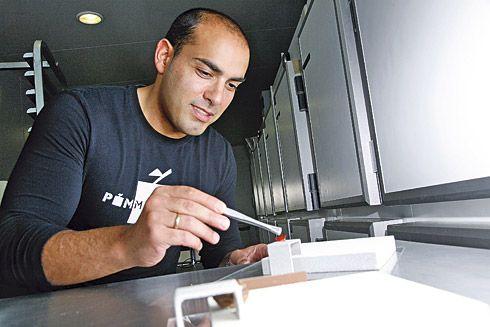 Julio Blanco, maestro pastelero.