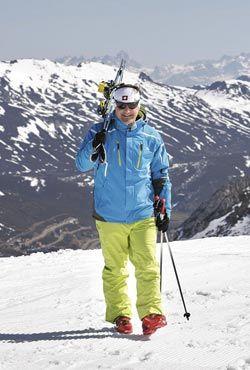 Armando Valdés. Director de la Escuela de Esquí y Snowboard Fuentes de Invierno