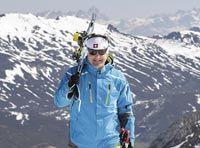 Armando Valdés Director de la Escuela de Esquí y Snowboard Fuentes de Invierno