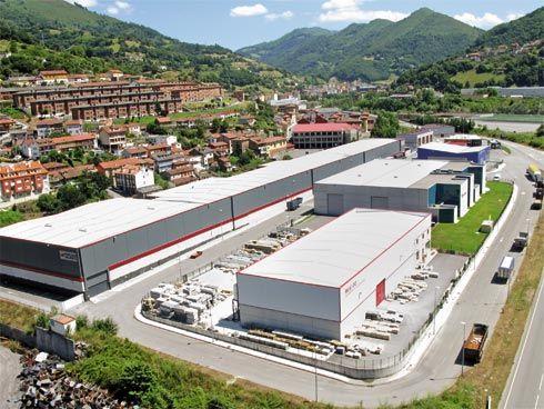 Polígono Industrial de Caborana (Aller).