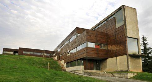 Edificio Centro Tecnológico dentro de la Milla del Conocimiento.