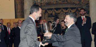 Ayuntamiento de Navia, Premio Nacional del Deporte 2012.