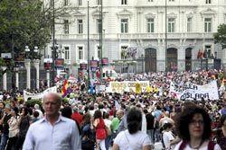 Manifestación justicia.