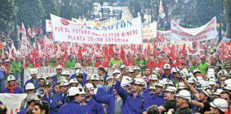 Movilizaciones. Sector minero.