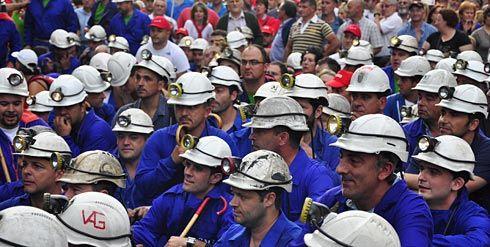 Movilizaciones sector minero