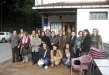 Vecinas del concejo de Belmonte de Miranda en un Encuentro de Mujeres.
