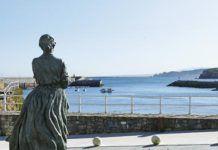 Estatua de La Marinera, obra de Antón, Candás (Carreño)