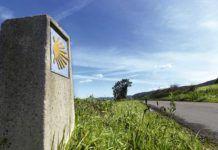 Camino de Santiago a su paso por el concejo de Carreño.