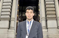 Eloy Serrano, presidente de OVIMUN