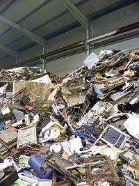 Recuperaciones y reciclaje. Aquí no se tira nada.