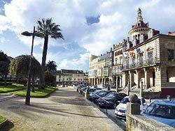 Plaza de España. Ribadeo. Foto: Fusión Asturias