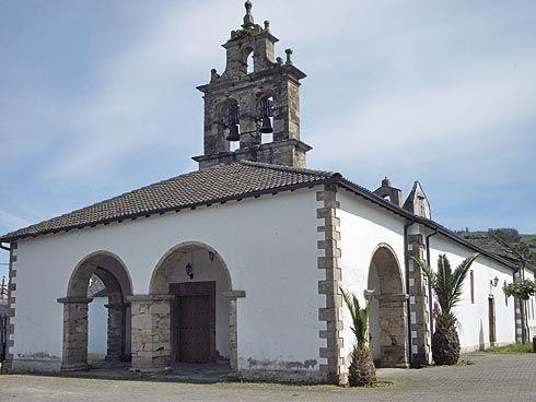 Iglesia de Santiago de Abres, en Vegadeo.