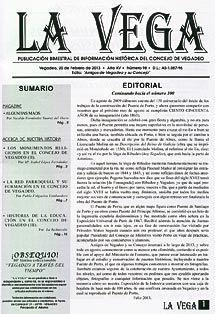 Revista La Vega, publicación de la Asociación Amigos de Vegadeo y su concejo